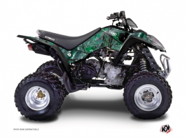 Kymco 50 MAXXER ATV Camo Graphic Kit Green