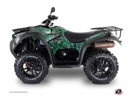 Kymco 700 MXU ATV Camo Graphic Kit Green