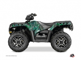 Polaris 1000 Sportsman Forest ATV Camo Graphic Kit Green