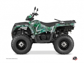 Polaris 570 Sportsman Touring ATV Camo Graphic Kit Green