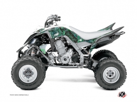 Yamaha 660 Raptor ATV Camo Graphic Kit Green