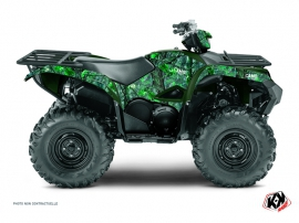 Yamaha 700-708 Grizzly ATV Camo Graphic Kit Green