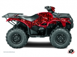 Yamaha 700-708 Kodiak ATV Camo Graphic Kit Red