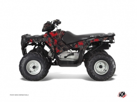 Kit Déco Quad Camo Polaris 90 Sportsman Noir Rouge