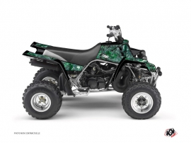 Yamaha Banshee ATV Camo Graphic Kit Green