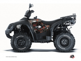 TGB Blade ATV Camo Graphic Kit Black Red