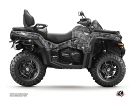 CF MOTO CFORCE 850 XC ATV Camo Graphic Kit Grey