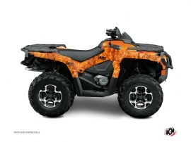 Kit Déco Quad Camo Can Am Outlander 1000 Orange
