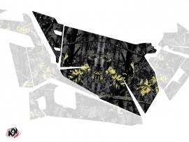 Graphic Kit Doors Origin Camo UTV Polaris RZR 900S/1000/Turbo 2015-2017 Black Yellow