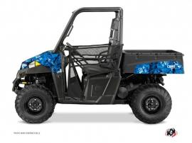 Kit Déco SSV Camo Polaris Ranger 570 Bleu