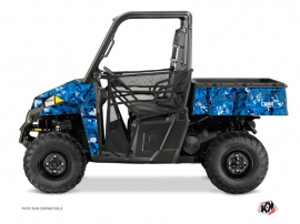 Polaris Ranger 900 UTV Camo Graphic Kit Blue