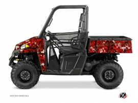 Polaris Ranger 900 UTV Camo Graphic Kit Red