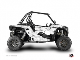 Polaris RZR 1000 Turbo UTV Camo Graphic Kit White