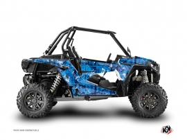 Polaris RZR 1000 Turbo UTV Camo Graphic Kit Blue