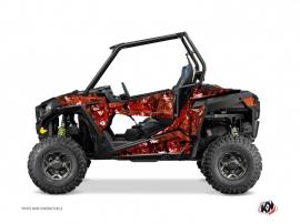 Polaris RZR 900 S UTV Camo Graphic Kit Red