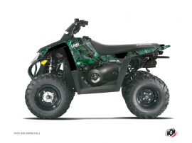 Polaris Scrambler 500 ATV Camo Graphic Kit Green