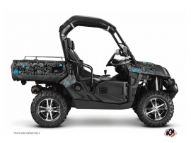 CF Moto U Force 800 UTV Camo Graphic Kit Black Blue