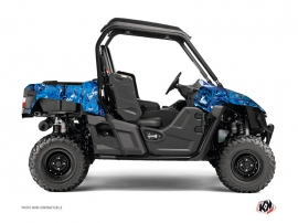 Yamaha Wolverine-R UTV Camo Graphic Kit Blue