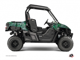 Yamaha Wolverine-R UTV Camo Graphic Kit Green