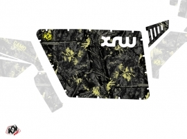 Graphic Kit Doors Standard XRW Camo UTV Polaris RZR 570/800/900 2008-2014 Black Yellow