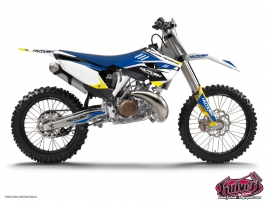 Husqvarna 250 FE Dirt Bike Chrono Graphic Kit
