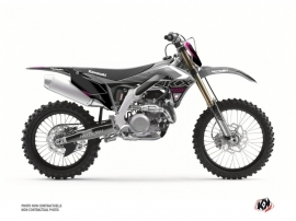 Kit Déco Moto Cross Claw Kawasaki 250 KXF Gris