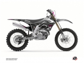 Kit Déco Moto Cross Claw Kawasaki 450 KXF Gris