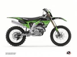 Kit Déco Moto Cross Claw Kawasaki 450 KXF Noir