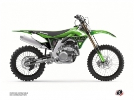 Kit Déco Moto Cross Claw Kawasaki 450 KXF Vert