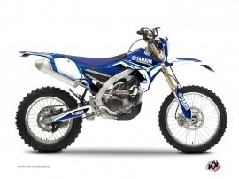 Yamaha 250 WRF Dirt Bike Concept Graphic Kit Blue