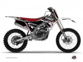 Yamaha 250 YZF Dirt Bike Concept Graphic Kit Red