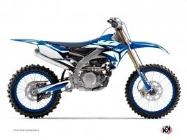 Yamaha 450 YZF Dirt Bike Concept Graphic Kit Blue