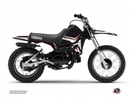Yamaha PW 80 Dirt Bike Concept Graphic Kit Red