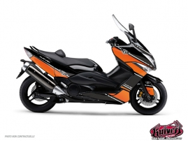 Yamaha TMAX 530 Maxiscooter Cooper Graphic Kit Orange