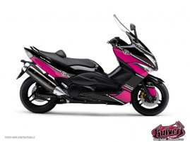 Kit Déco Maxiscooter Cooper Yamaha TMAX 530 Rose