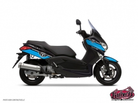 Yamaha XMAX 125 Maxiscooter Cooper Graphic Kit Blue