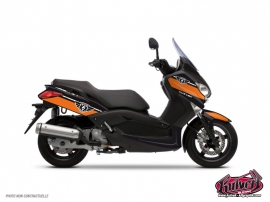 Yamaha XMAX 125 Maxiscooter Cooper Graphic Kit Orange