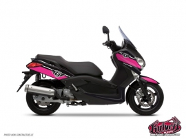 Yamaha XMAX 125 Maxiscooter Cooper Graphic Kit Pink
