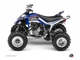 Yamaha 250 Raptor ATV Corporate Graphic Kit Blue