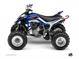 Yamaha 250 Raptor ATV Corporate Graphic Kit Blue