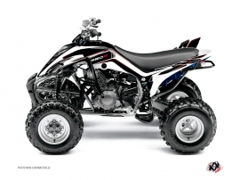 Yamaha 350 Raptor ATV Corporate Graphic Kit Black