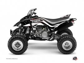 Yamaha 450 YFZ ATV Corporate Graphic Kit Black
