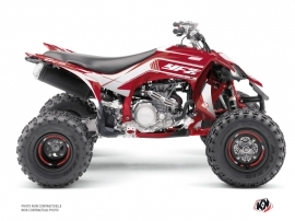 Kit Déco Quad Corporate Yamaha 450 YFZ R Rouge Noir