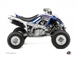 Yamaha 660 Raptor ATV Corporate Graphic Kit Blue