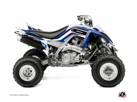 Yamaha 660 Raptor ATV Corporate Graphic Kit Blue
