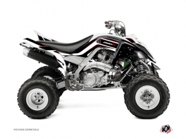 Yamaha 660 Raptor ATV Corporate Graphic Kit Black