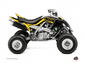 Yamaha 700 Raptor ATV Corporate Graphic Kit Yellow 60th Anniversary