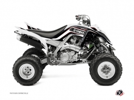 Yamaha 700 Raptor ATV Corporate Graphic Kit Black