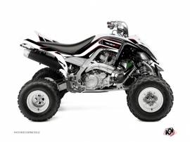 Yamaha 700 Raptor ATV Corporate Graphic Kit Black