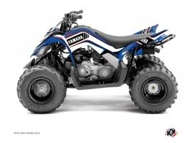 Yamaha 90 Raptor ATV Corporate Graphic Kit Blue